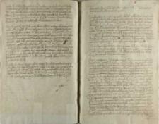 Actum in castro Lublinensi sabbato post festum sanctonum Vitti et Modesti martyrum proximo Anno Dni Millenisimo sexcentesimo sexto