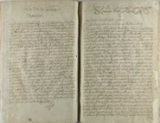 List do Jeo Mci Pana Lwowskiego, z rokoszu pod Sędomirzem dnia 12 Aug. Ao 1606