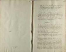Artykuły ktore Ich Mciom panom Posłom s koła ieneralnego rokoszowego ziazdu Sędomirskiego do krola Jeo Mci zgodnie odniesc zlecilismy