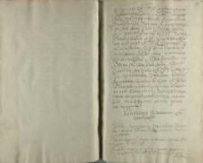 Assecuratia P. woiewody krakowskiego [Mikołaja Zebrzydowskiego], działo się w obozie Kr. Jeo Mci pod Janowcem anno 1606