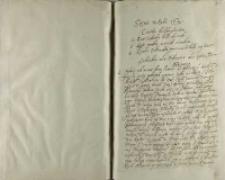 Sejmu w roku 1612, capita deliberationum: 1. Quae subsidia belli ducendi; 2. Quis modus gerendi eiusdem; 3. Qualis ordinatio prouinciaru bello captarum