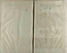 Przeproszenie Kró. Jeo Mci [Zygmunta III] Jeo Mci pana podczaszego WoXa Lith pana Janusza Radziwiłła w roku 1612