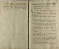 Oratia y uotum pana Christopha Zborowskiego na seimiku w Pruszowicach [Proszowicach] Anno Domini 158 quarto
