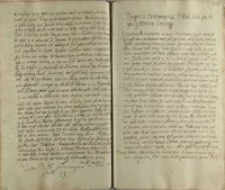Wypis z testamentu Jeo Mczi pana canclerza y hetmana koronnego [Jana Zamoyskiego]