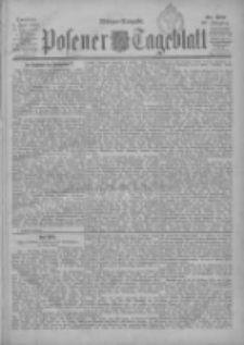 Posener Tageblatt 1900.07.01 Jg.39 Nr302