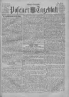 Posener Tageblatt 1900.07.12 Jg.39 Nr320