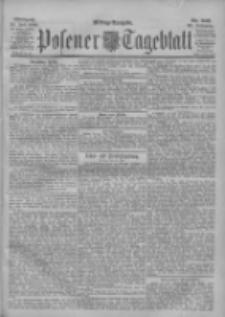 Posener Tageblatt 1900.07.25 Jg.39 Nr343