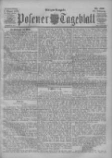 Posener Tageblatt 1900.08.02 Jg.39 Nr356