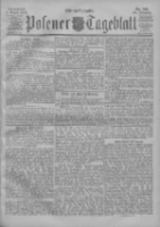 Posener Tageblatt 1900.08.04 Jg.39 Nr361