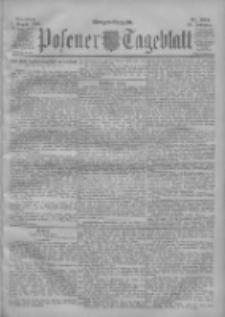 Posener Tageblatt 1900.08.07 Jg.39 Nr364