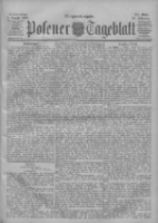 Posener Tageblatt 1900.08.09 Jg.39 Nr368