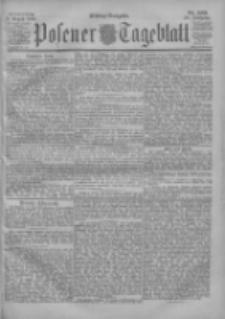 Posener Tageblatt 1900.08.09 Jg.39 Nr369