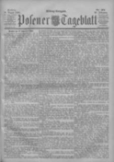 Posener Tageblatt 1900.08.10 Jg.39 Nr371