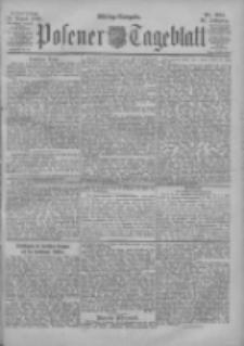 Posener Tageblatt 1900.08.16 Jg.39 Nr381