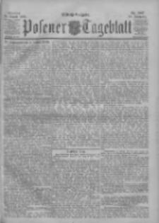 Posener Tageblatt 1900.08.20 Jg.39 Nr387