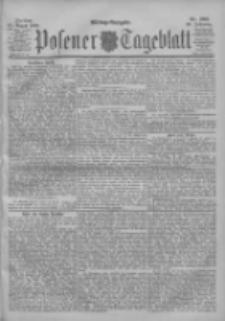 Posener Tageblatt 1900.08.24 Jg.39 Nr395
