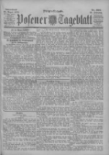 Posener Tageblatt 1900.08.25 Jg.39 Nr396
