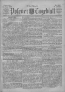 Posener Tageblatt 1900.08.25 Jg.39 Nr397