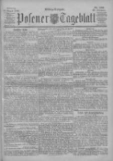 Posener Tageblatt 1900.08.27 Jg.39 Nr399