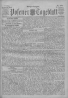 Posener Tageblatt 1900.08.28 Jg.39 Nr400