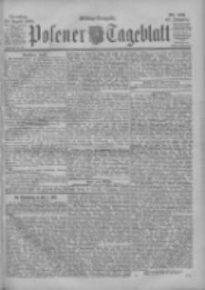 Posener Tageblatt 1900.08.28 Jg.39 Nr401