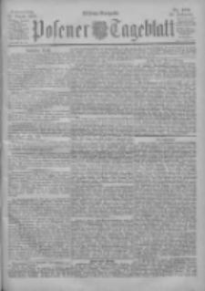 Posener Tageblatt 1900.08.30 Jg.39 Nr405
