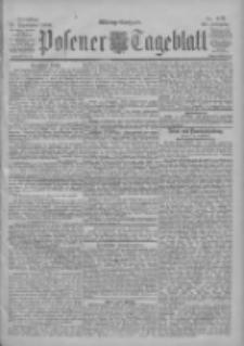 Posener Tageblatt 1900.09.18 Jg.39 Nr437