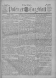 Posener Tageblatt 1900.10.15 Jg.39 Nr483