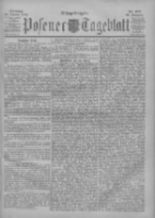 Posener Tageblatt 1900.10.23 Jg.39 Nr497