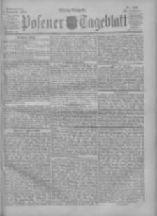 Posener Tageblatt 1900.11.01 Jg.39 Nr513