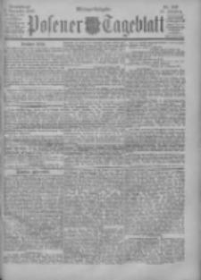 Posener Tageblatt 1900.11.03 Jg.39 Nr517