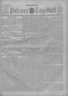 Posener Tageblatt 1900.11.06 Jg.39 Nr521