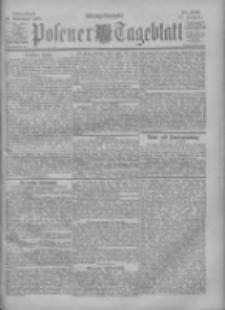 Posener Tageblatt 1900.11.10 Jg.39 Nr529