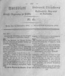 Amtsblatt der Königlichen Regierung zu Posen. 1825.11.15 Nro.46