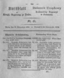 Amtsblatt der Königlichen Regierung zu Posen. 1825.11.29 Nro.48