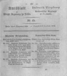 Amtsblatt der Königlichen Regierung zu Posen. 1825.12.06 Nro.49