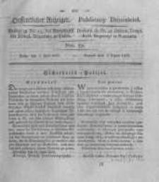 Oeffentlicher Anzeiger. 1825.07.05 Nro.27