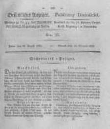 Oeffentlicher Anzeiger. 1825.08.16 Nro.33