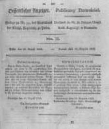 Oeffentlicher Anzeiger. 1825.08.30 Nro.35