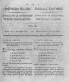 Oeffentlicher Anzeiger. 1825.09.06 Nro.36
