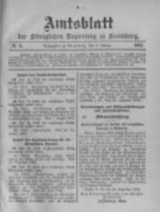 Amtsblatt der Königlichen Preussischen Regierung zu Bromberg. 1903.01.08 No.2