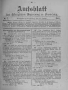 Amtsblatt der Königlichen Preussischen Regierung zu Bromberg. 1903.01.29 No.5