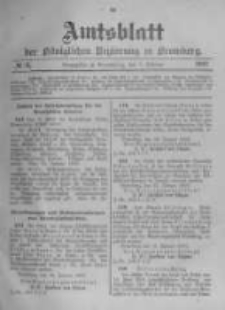 Amtsblatt der Königlichen Preussischen Regierung zu Bromberg. 1903.02.05 No.6