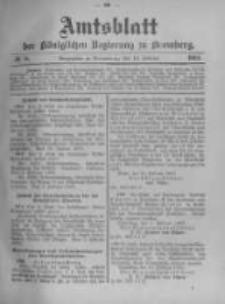 Amtsblatt der Königlichen Preussischen Regierung zu Bromberg. 1903.02.19 No.8