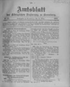 Amtsblatt der Königlichen Preussischen Regierung zu Bromberg. 1903.03.12 No.11