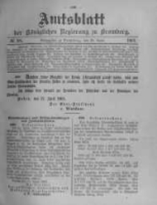 Amtsblatt der Königlichen Preussischen Regierung zu Bromberg. 1903.04.30 No.18