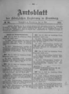 Amtsblatt der Königlichen Preussischen Regierung zu Bromberg. 1903.05.14 No.20