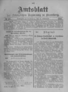Amtsblatt der Königlichen Preussischen Regierung zu Bromberg. 1903.09.10 No.37