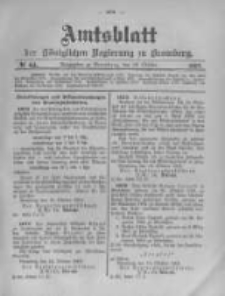 Amtsblatt der Königlichen Preussischen Regierung zu Bromberg. 1903.10.29 No.44