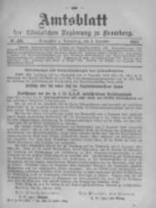 Amtsblatt der Königlichen Preussischen Regierung zu Bromberg. 1903.12.03 No.49